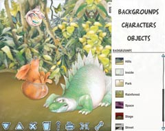 Picture Books Online image gallery interface